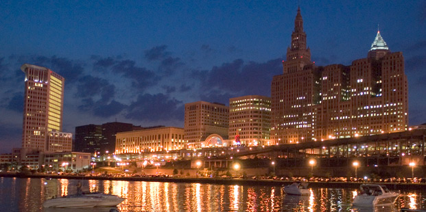 0fbeb85f7629 City of Cleveland Signs on as first property owner founding member ...