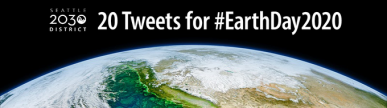 S2030D, 20 Tweets for #EarthDay2020 graphic