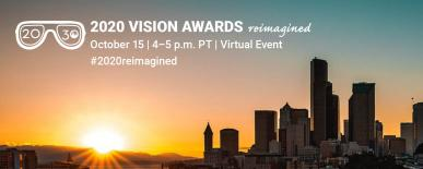 2020 Vision Awards reimagined, Oct 15th 4pm.