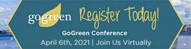 2021 Seattle GoGreen Conference banner
