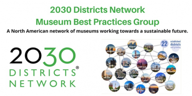 Graphic for 2030 Districts Network Museum Best Practices Group Meeting
