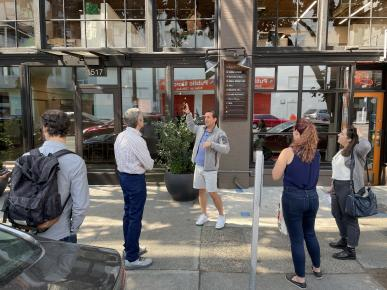 2021 Energy Competition: Tour of Ballou Wright Building