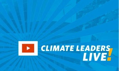 Climate Leaders Live! graphic