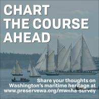"""""""CHART THE COURSE AHEAD"""" graphic for Maritime WA NHA survey"""