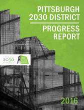 Pittsburgh 2030 District Progress Report 2016 Cover.png