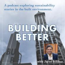 "Graphic for ""Building Better"" podcast"